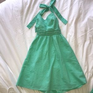 Lauren James bow dress